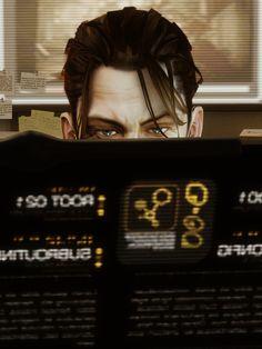Deus Ex: Human Revolution Deus Ex Human, Geek Art, Bioshock, Cyberpunk, Trending Memes, Sci Fi, Tumblr, Video Games, Blog