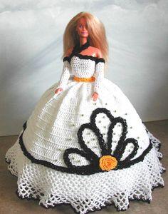 Crochet poupée Barbie Pattern 679 Couturier ORIGINAL 7