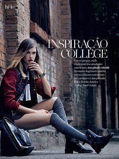 inspiração college: camila mingori by pedrita junckes for marie claire brazil june 2014