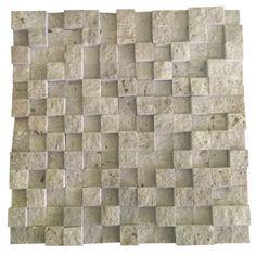 3D Classic 2.5X2.5 Fileli Patlatma Taş  www.tasdekorcum.com #dekor #patlatmatas #mozaik #dogaltas #naturalstonemosaic #naturalstone