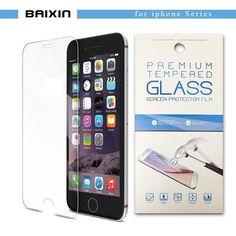 """الزجاج المقسى ل فون 4 se 6 6 ثانية 7 ثانية 5 5 ثانية تشديد اقية حامي الشاشة ل فون 6 ثانية زائد 7 زائد 5.5 """"+ حزمة بالتجزئة"""