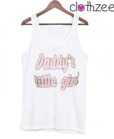 Daddy Little Girl Tank Top