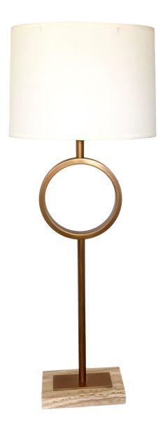 Robert Abbey Logan Buffet Table Lamp - All For Lamp İdeas Modern Traditional, Modern Contemporary, Home Lighting, Modern Lighting, Robert Abbey Lighting, Buffet Table Lamps, House Lamp, Brass Lamp