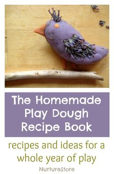 Recipes and play ideas for a whole year of play dough activities. Great ideas for sensory and imaginative play, creating small worlds, art projects, and maths and literacy activities.
