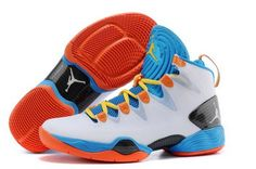 on sale 8471a e138a Nike Air Jordan Xx8 28 Se Mens Shoes White Blue Orange Switzerland