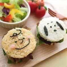 Japanese Lunch Box, Japanese Food, Kawaii Bento, I Want To Eat, Cute Food, Creative Food, I Foods, Food Art, Rice Ball