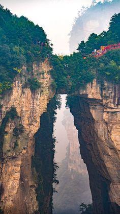 Zhangjiajie National Forest Park, China. #GlobalGirlTravels