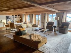 The Alpina Gstaad, Swiss luxury at its finest - Fashion Foie Gras Senses Spa, Alpine Style, Painted Cupboards, Luxury Escapes, Hotel Reception, Bar Areas, Foie Gras, Sit Back, Hotel S