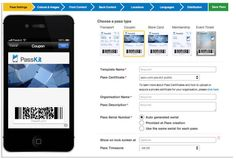 Five Web sites for small businesses to create Passbook passes