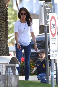 Prince Joachim and Princess Marie arrived in Nice with their children Princess Athena and Prince Henrik