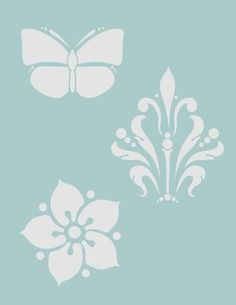 Art Nouveau Medallions - Decoart Americana Classic Stencil by Tracy Moreau Art Nouveau MedallionsAmericana Classic Stencils are perfect for ...