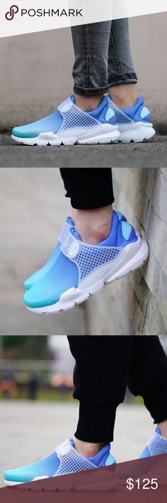 197379e8cd16 Nike Sock Dart BR Breathe Blue Ombré Brand new! Nike Shoes Sneakers Sock  Dart