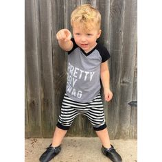 Pretty Boy Swag tee/Trilogy Designs/ Toddler tees