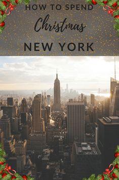Christmas In New York Pinterest