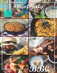 All American 4th of July BBQ Recipe Round-Up