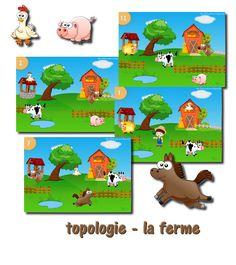 Topologie - la ferme | La classe de Laurène | Bloglovin'