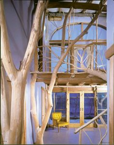 Beautiful interior by Roald Gundersen, founding partner and CEO of Whole Trees.