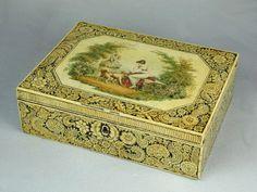 1stdibs.com   Regency pen & ink work Box. Circa 1810.