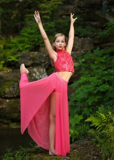 Gorgeous picture of Brooke Cox wearing this High-Waist Mesh Maxi Skirt and Rosette Sequin Mesh Top. Dance Senior Pictures, Dance Pics, Senior Pics, Dance Shorts, Dance Tights, Hip Hop Outfits, Dance Outfits, Competitive Dance, Solo Dance Costumes