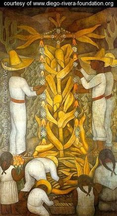 Diego Rivera's large wall works in fresco helped establish the Mexican Mural Renaissance. Between 1922 and 1953, Rivera painted murals in Mexico City, Chapingo, Cuernavaca, San Francisco, Detroit, New York City. His 1931 retrospective exhibition at the Museum of Modern Art in New York City was their second.