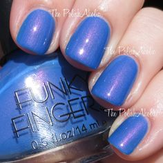 The PolishAholic: Funky Fingers Let The Beat Drop