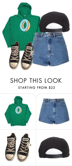 """""""Odd Future"""" by palemoonlight-x ❤ liked on Polyvore featuring Glamorous, Converse and Brixton"""
