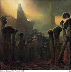 gótico - Zdzisław Beksiński