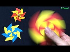 (2) How To Make a PAPER Fidget Spinner WITHOUT BEARINGS - YouTube