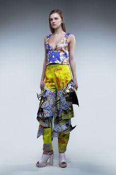 Fashion - Print - Designer -Emma Thomas - Graduate Collection - BA  Fashion at CSA