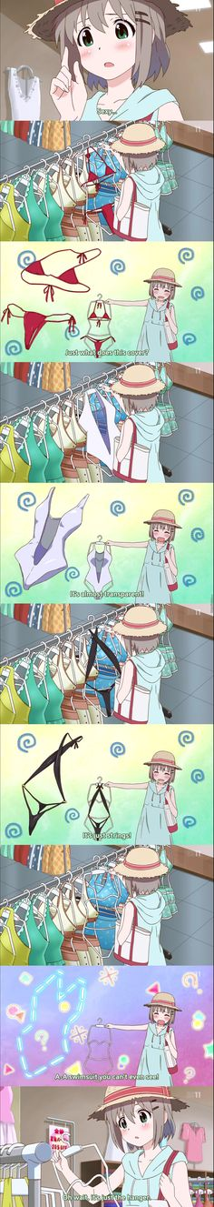 Me trying to shop for clothes - yeah thats about right :3♡