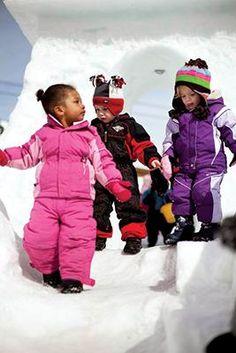 Kids playing at the Kids Ranch in Teton Village #kids #snow #JacksonHole   I want my kids to ski!