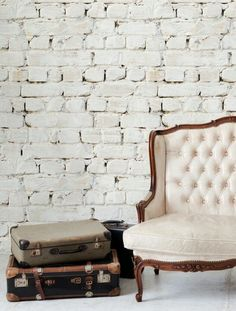 faux brick wallpaper - See Milton and King