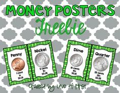 Money Posters FREEBIE