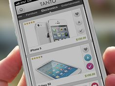 Product Selection for Tanto App by Angel Ceballos