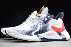 2019 Adidas Alphabounce Instinct M White/Navy Blue-Red All White Sneakers, Winter Sneakers, Best Sneakers, Slip On Sneakers, Shoes Sneakers, Men's Shoes, Shoes Style, Adidas Shoes Outlet, Nike Shoes