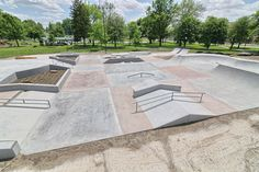 Skateparks are becoming a growing trend across the country as adrenaline sports continue to gain in popularity with sporting events like the X-Games and others becoming more mainstream. Adrenaline Sports, Skate Park, Bmx, Exterior, Skateboarding, Gain, Outdoor Decor, Parks, Concept
