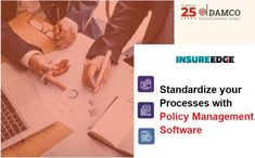 Insurance policy management software ensures that no step in the policy administration process gets missed. After implementing the software, you can receive instant benefits in the form of process standardization and cost reduction. Leverage Damco's policy management software and improve your organizational efficiency by handling all the policy-related processes and documents in a single integrated system Policy Management, Best Insurance, Improve Yourself, Software, Success