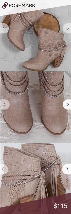 Not rated ankle boots Brand new without tags! Ordered online ended up to small!! Super cute on! Please do not low ball me! Not Rated Shoes Ankle Boots & Booties