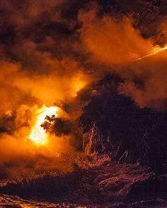 Lava Flow | volcano photograph by Sean Ruttkay | edasurf.com