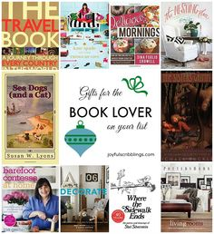 Some great books for the book lover-joyfulscribblings.com