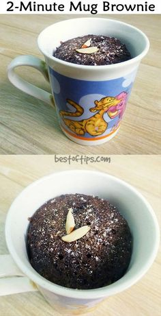 2-MINUTES MUG BROWNIE RECIPE