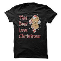 Bear Love Christmas T Shirts, Hoodies. Check price ==► https://www.sunfrog.com/Christmas/Bear-Love-Christmas.html?41382 $19