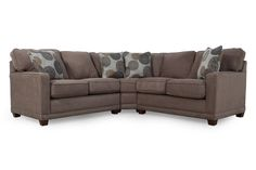 La-Z-Boy Kennedy Cashmere Sectional | Mathis Brothers Furniture