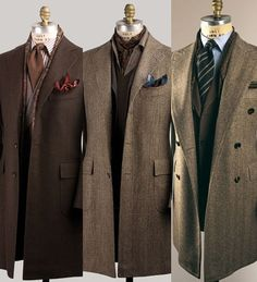 A tailored man's outfit.
