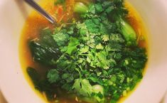 Detox Suppe www.galupasvoice.com/detox-suppe Pak Choi, Seaweed Salad, Ethnic Recipes, Food, Recipes, Eten, Meals, Diet