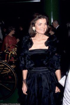 Jacqueline attends the Metropolitan Museum of Art's Costume Institute Gala in 1979