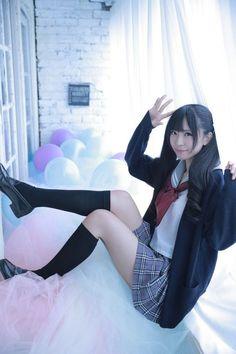 School Girl Bend Over Pose (Front View) School Girl Japan, School Girl Outfit, Japan Girl, Girl Outfits, Asian Cute, Cute Asian Girls, Cute Girls, Cute School Uniforms, School Uniform Girls