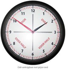 Een educatieve klok die het klokkijken voor kinderen een stuk eenvoudiger maakt. De klok gaat uit van een 3 stappen principe waarin het kind duidelijk, snel en begrijpelijk klok leert kijken. Teaching Time, Teaching Tools, Teacher Education, Kids Education, Learn Dutch, School Worksheets, Gifted Kids, School Hacks, School Tips