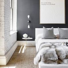 5 Ideas to Steal From a Chic, Textural Guest Bedroom | DomaineHome.com