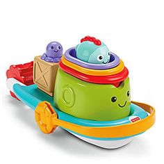 Fisher-Price® Stackin' Tubtime Boat at Big Lots.